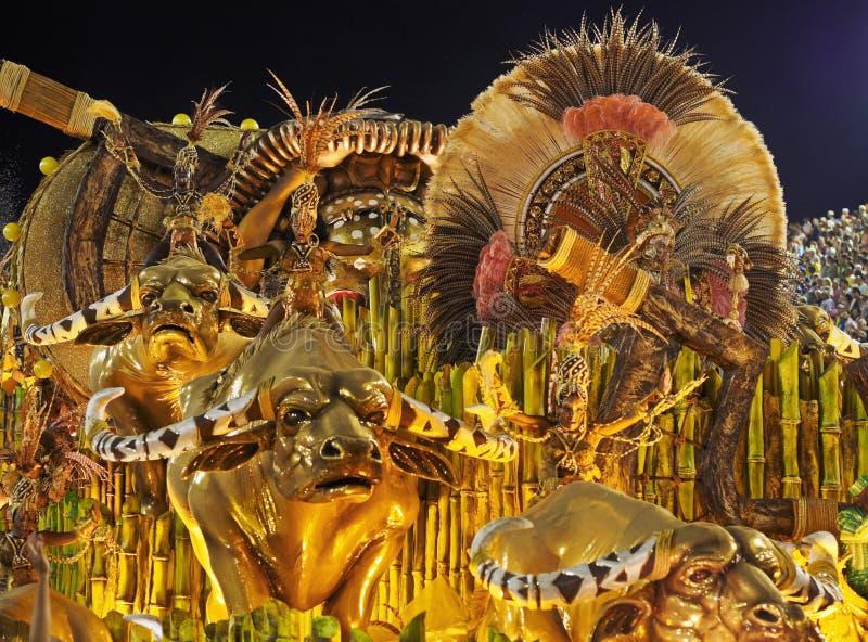 Carnaval em Rio de janeiro imagens de stock royalty free