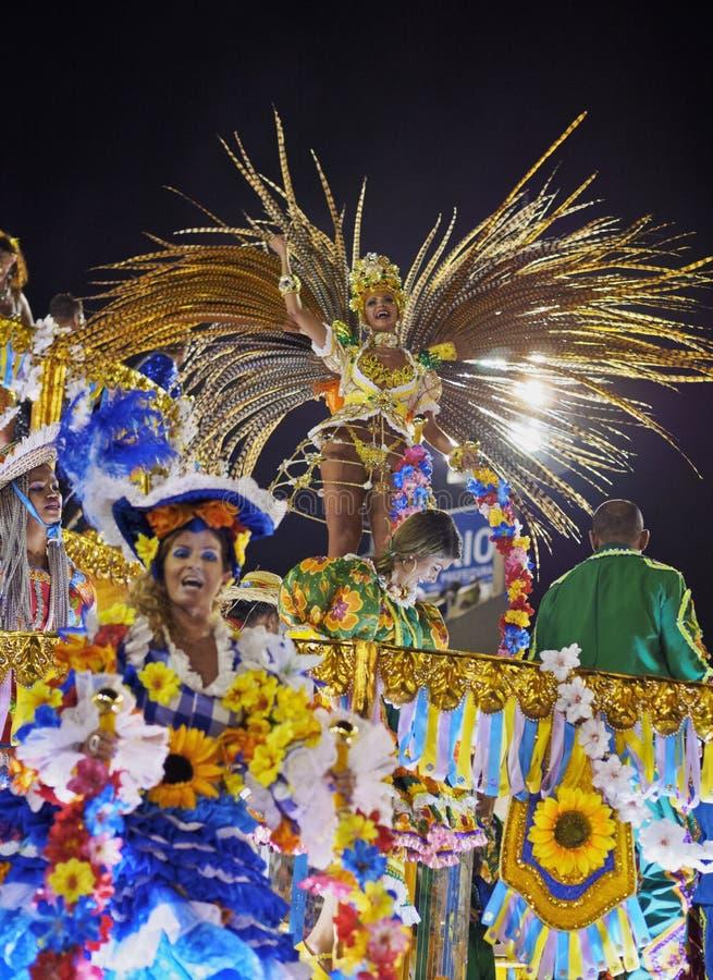 Carnaval em Rio de janeiro imagem de stock