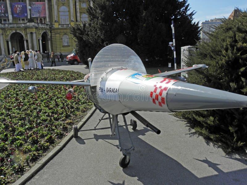 Carnaval em Zagreb, 5 fotografia de stock