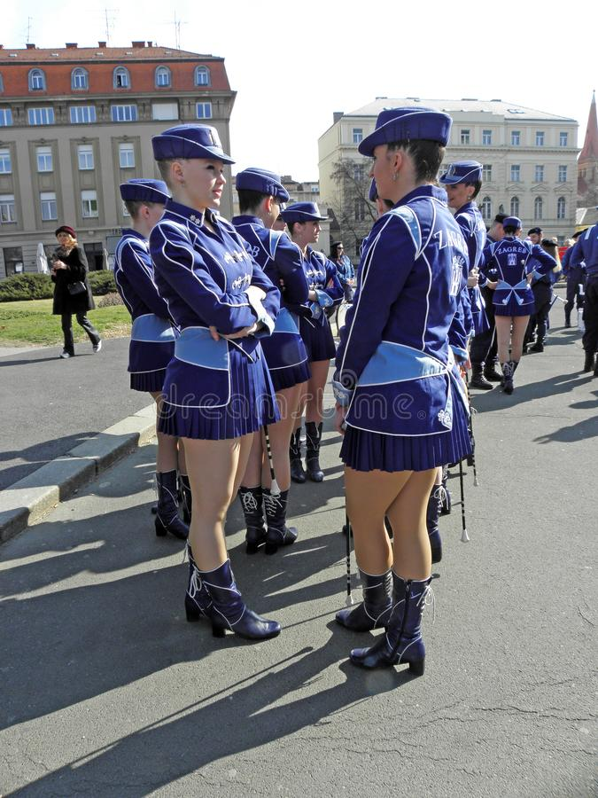 Carnaval em Zagreb, 3 foto de stock royalty free