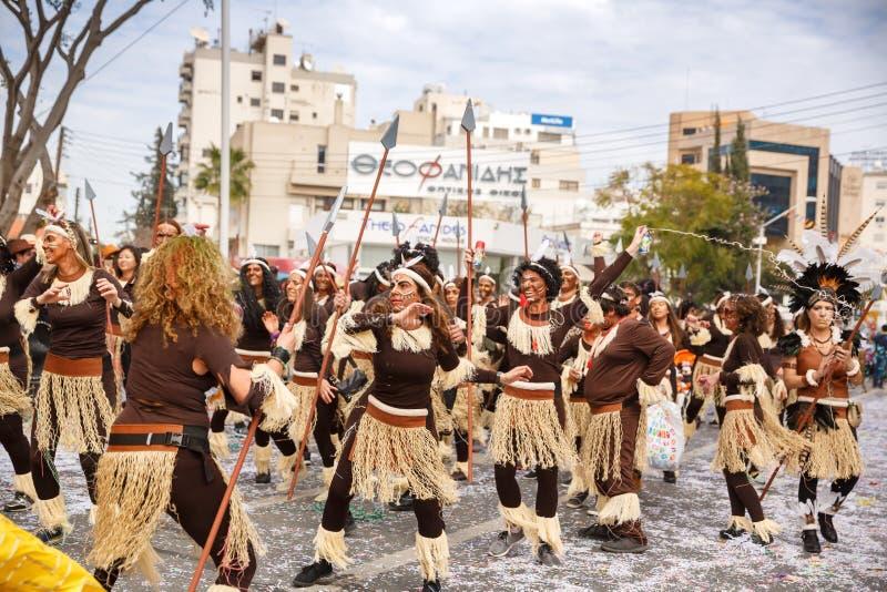Carnaval en Chypre photo stock