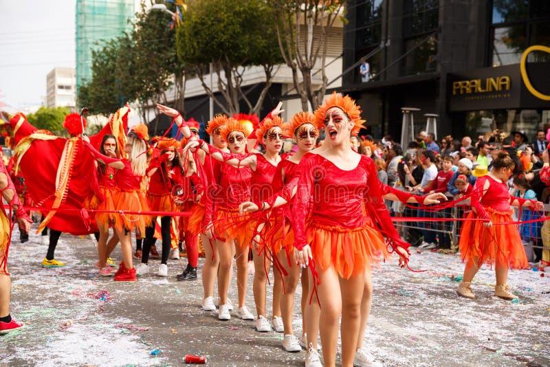 Carnaval en Chypre image libre de droits