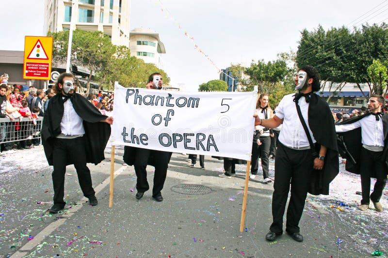 Carnaval en Chypre photographie stock libre de droits