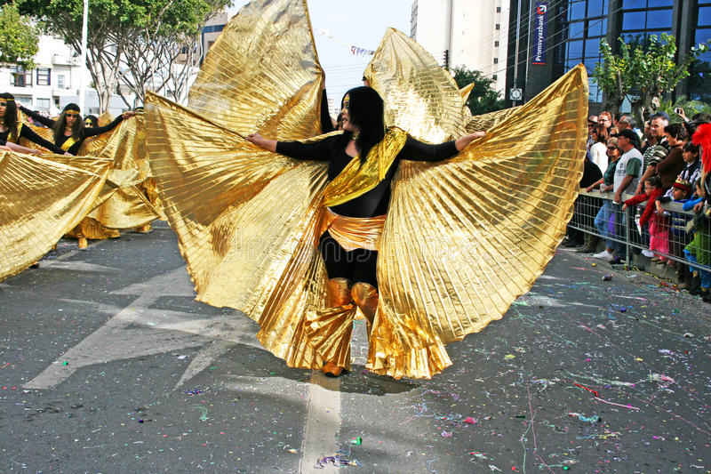 Carnaval en Chypre photographie stock