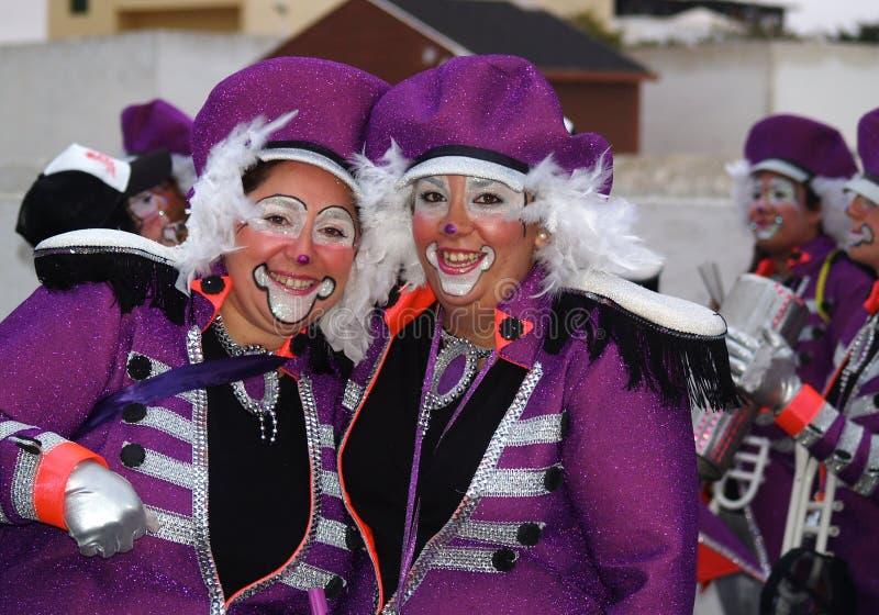Carnaval en mars 2014 Lanzarote photo stock