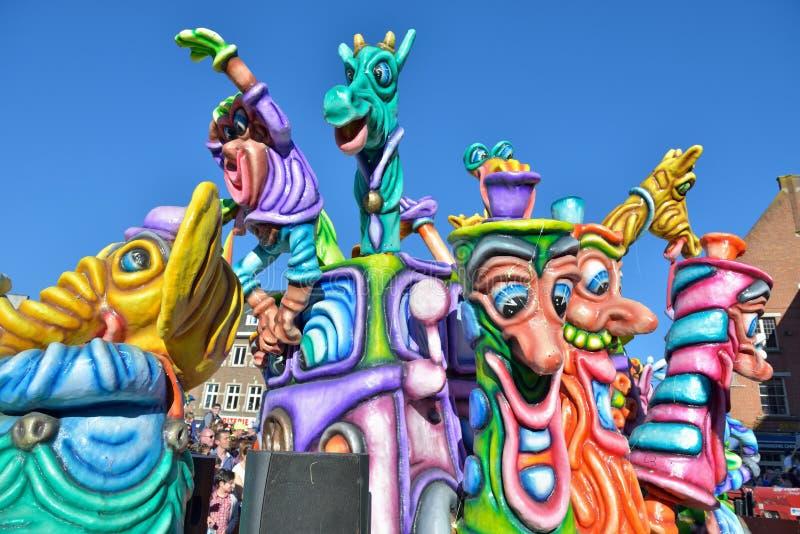 Carnaval en Nivelles, Bélgica imágenes de archivo libres de regalías