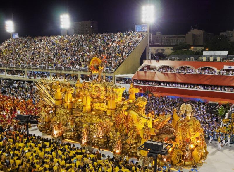 Carnaval en Rio de Janeiro photos libres de droits