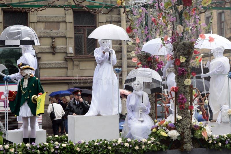 Carnaval en St Petersburg imágenes de archivo libres de regalías