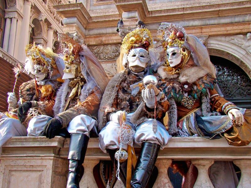 Carnaval en Venecia imagenes de archivo