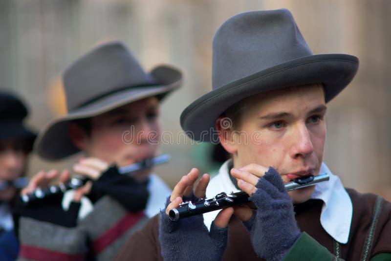 Carnaval of Escalade royalty free stock photos