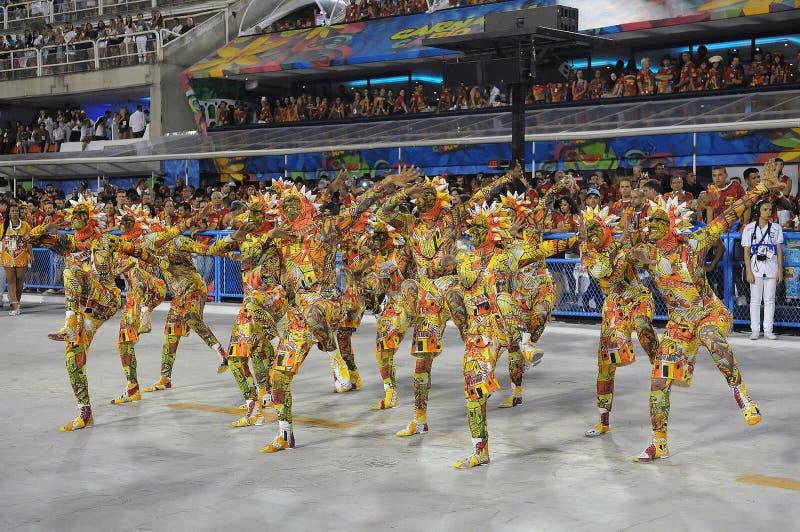 Carnaval - Escolas DE Samba stock fotografie