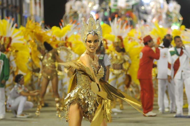 Carnaval - Escolas de Samba lizenzfreies stockbild