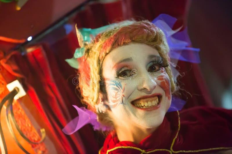 Carnaval espagnol dans la soirée photo stock