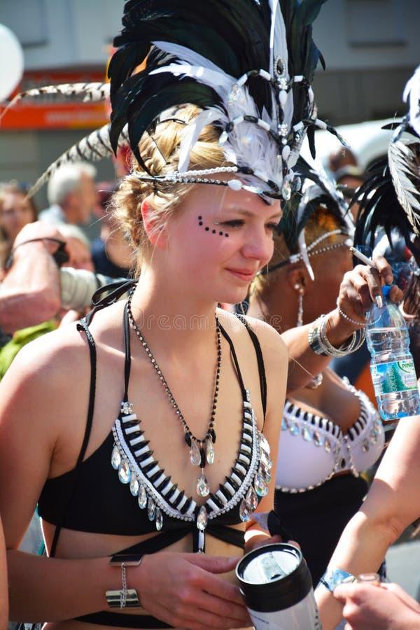 Carnaval 0f de culturen in Berlijn, Duitsland stock foto