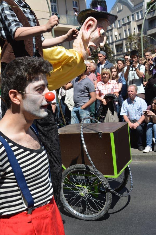 Carnaval 0f de culturen in Berlijn, Duitsland stock fotografie