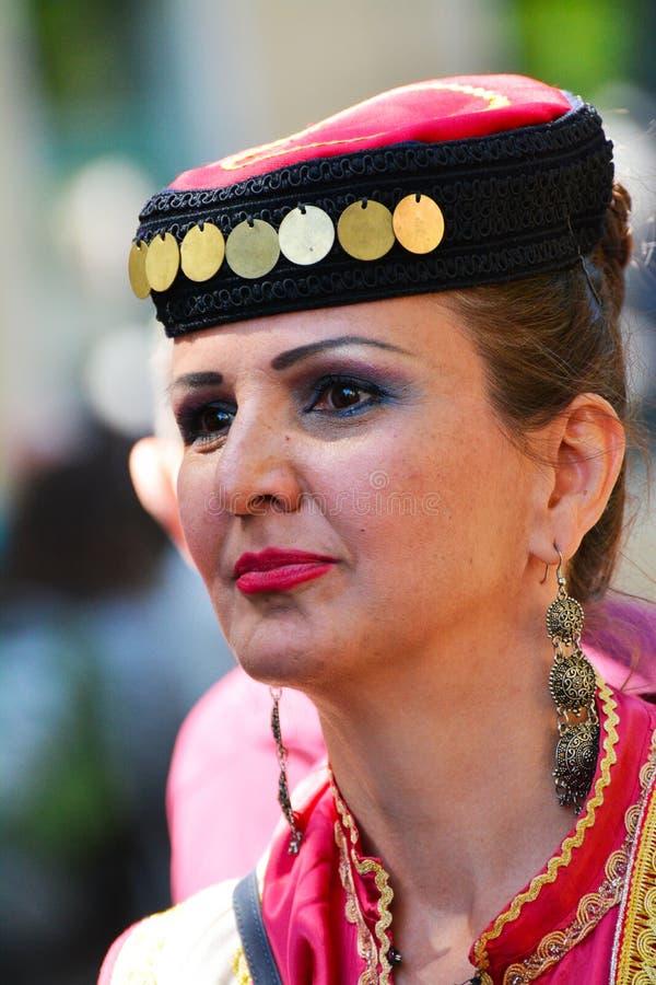 Carnaval 0f de culturen in Berlijn, Duitsland royalty-vrije stock afbeelding