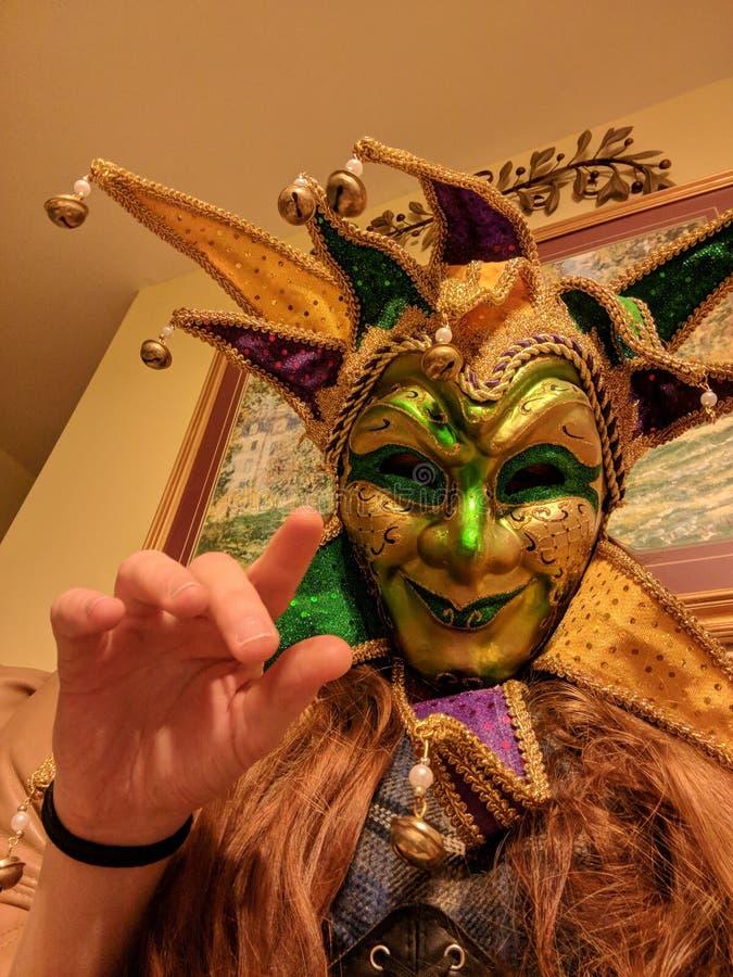 Carnaval feliz foto de archivo libre de regalías