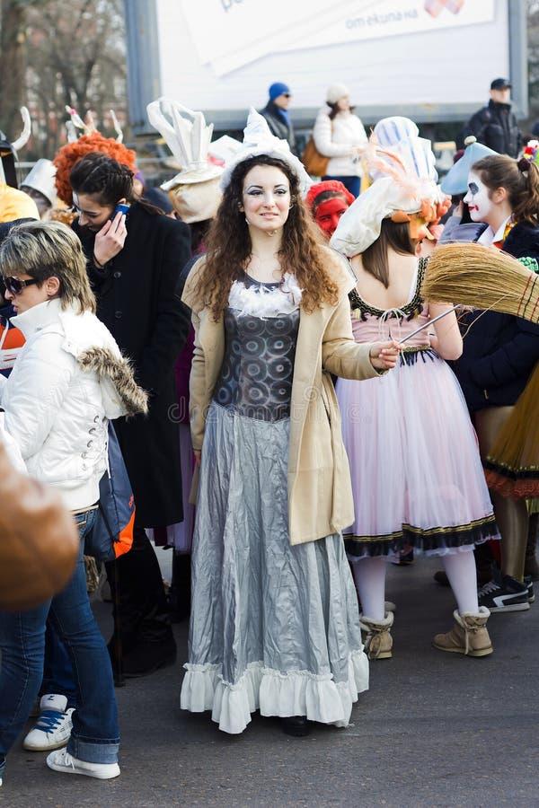 Carnaval festivo en Varna, Bulgaria imagen de archivo libre de regalías
