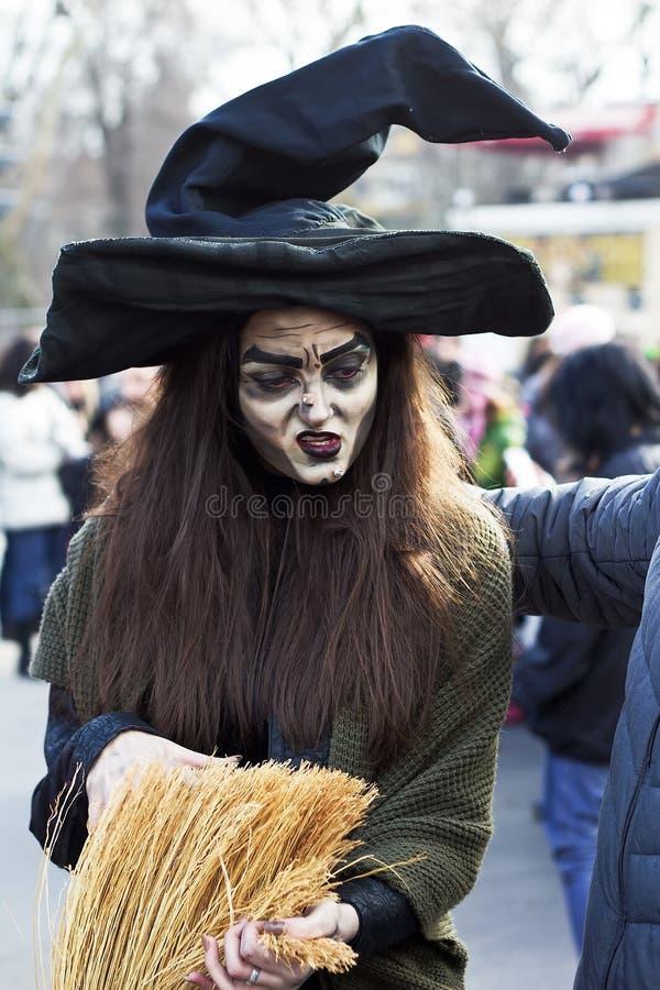 Carnaval festivo en Varna, Bulgaria imágenes de archivo libres de regalías