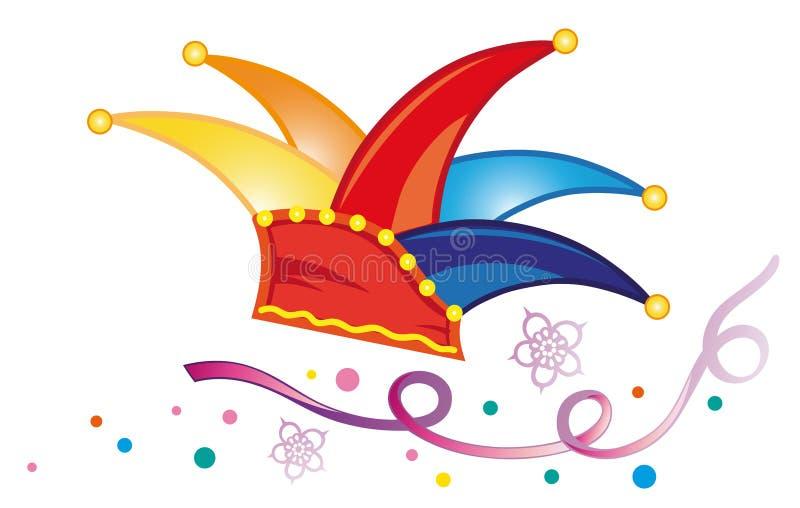 Carnaval, flâmulas ilustração stock