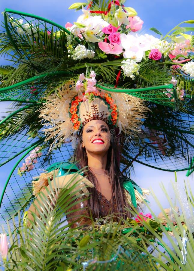 Carnaval franc?s de Niza fotografía de archivo libre de regalías