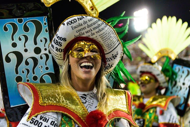 Carnaval 2019 - grand Rio photos stock
