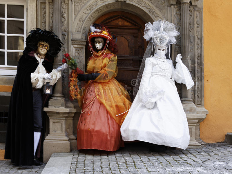 Carnaval - Hallia VENEZIA imagem de stock