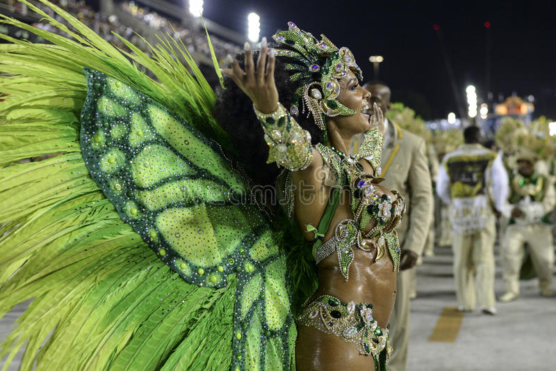 Download Carnaval 2017 - Imperio Serrano Image éditorial - Image du vacances, samba: 87701170