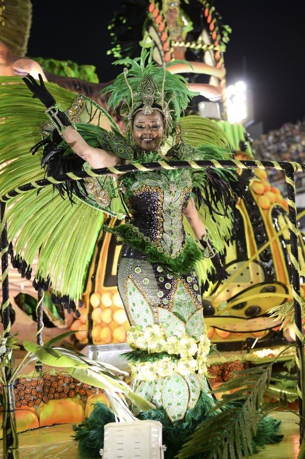 Download Carnaval 2017 - Imperio Serrano Photo stock éditorial - Image du brazil, danse: 87701203