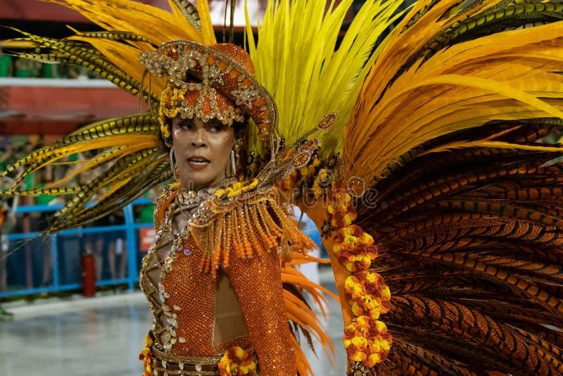 Carnaval 2020 - Inocentes de Belford Roxo imagenes de archivo