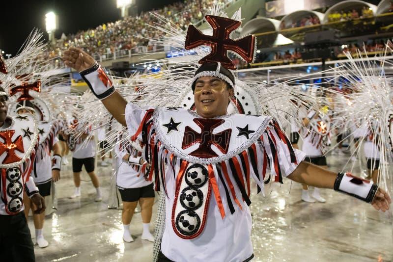 Carnaval 2020 - Inocentes de Belford Roxo fotos de archivo libres de regalías