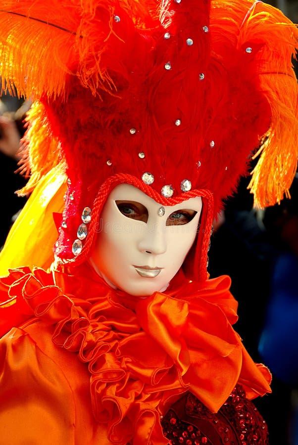 Carnaval, jaune, masque, festival photos libres de droits
