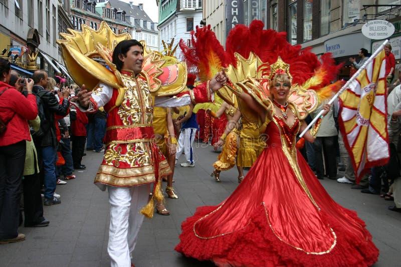 Carnaval in Kopenhagen stock fotografie