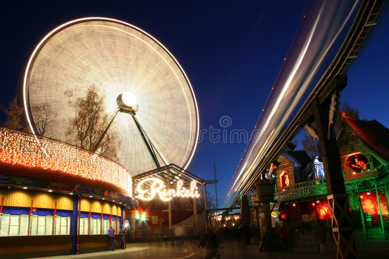 Carnaval léger à Helsinki image libre de droits
