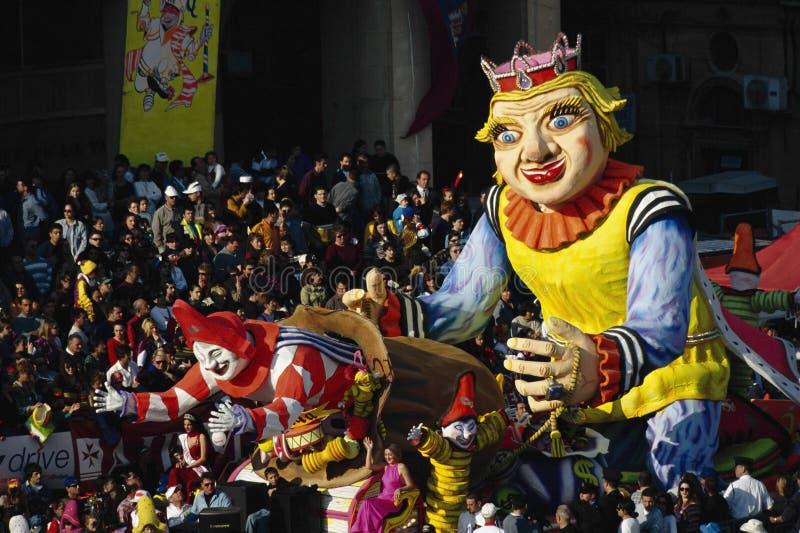 Carnaval, Malta, fotografie stock