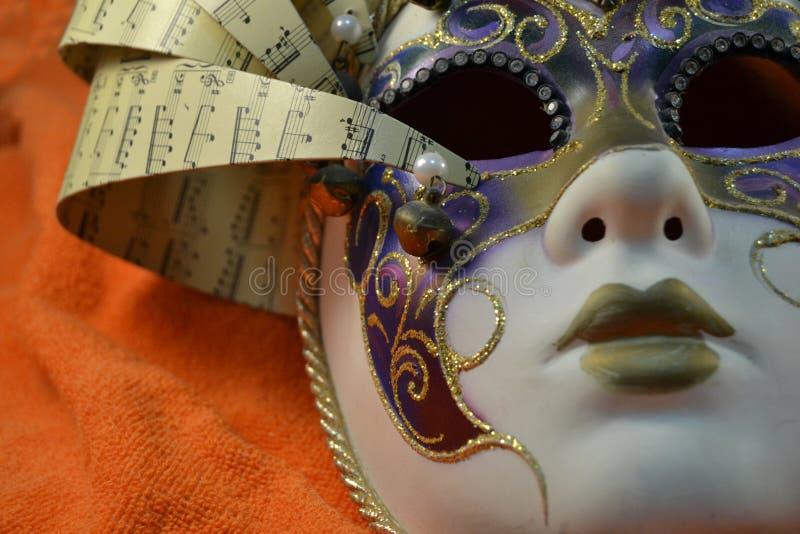 Carnaval-masker stock fotografie