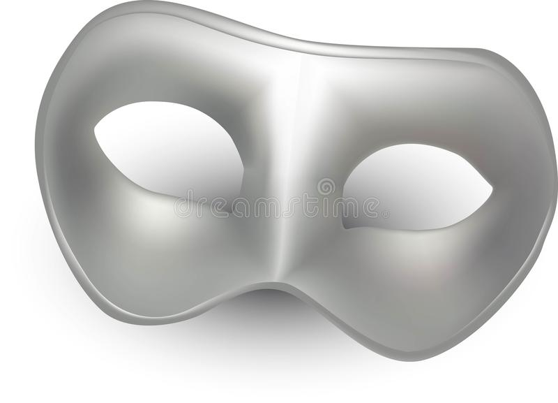 Carnaval-masker 3d modellen vector illustratie