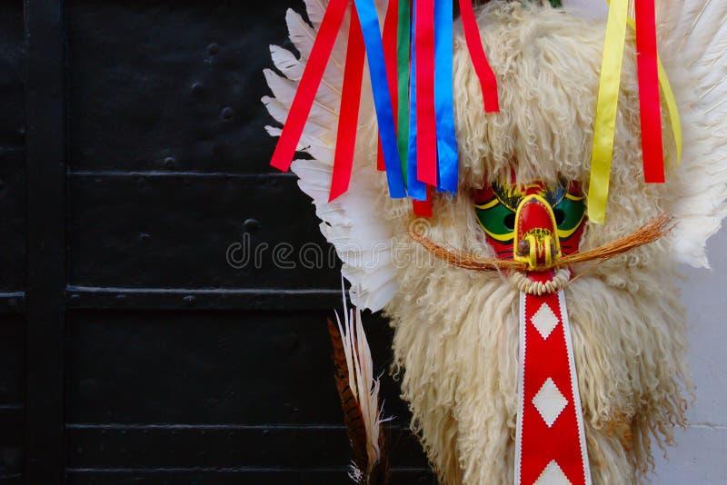 Carnaval-Masker, Ptuj, Slovenië stock foto's