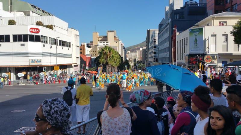 Carnaval minstral de cap images libres de droits