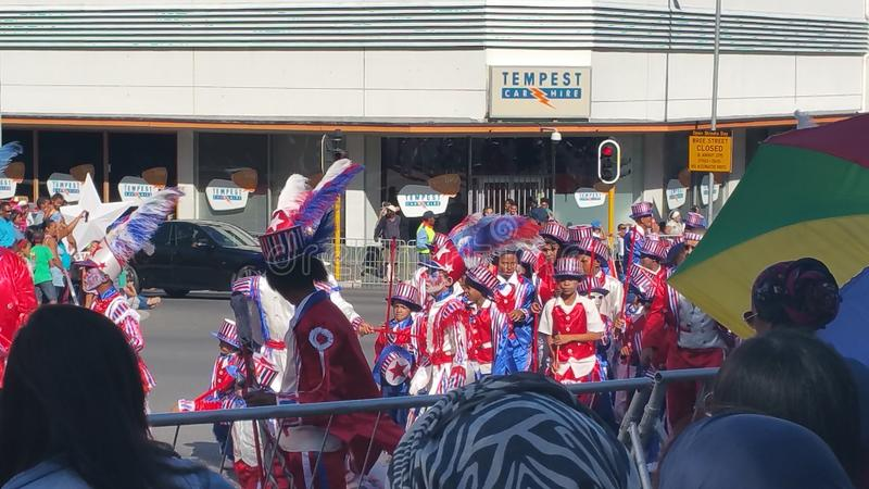 Carnaval minstral de cap photographie stock