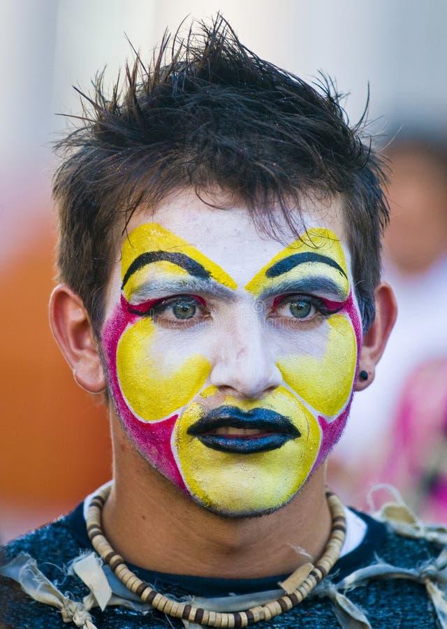 Carnaval a Montevideo fotografia stock libera da diritti