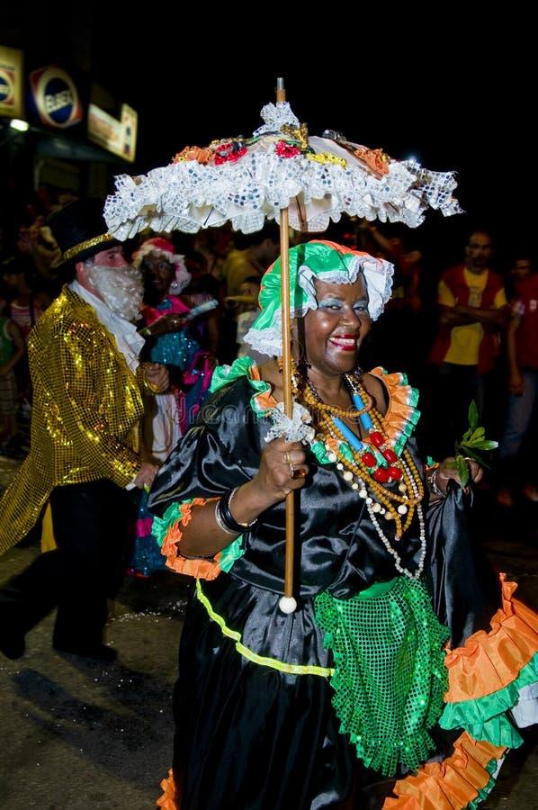 Carnaval a Montevideo fotografia stock