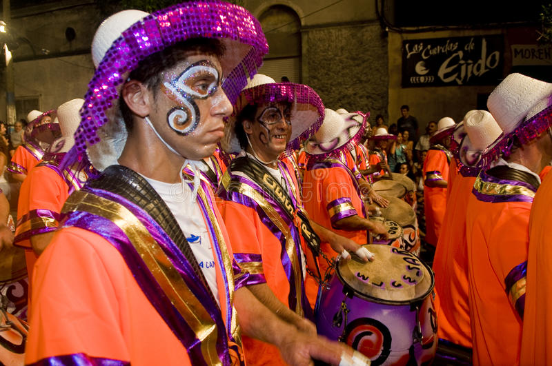 Download Carnaval in Montevideo editorial photography. Image of fancy - 15867277