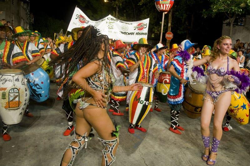 carnaval montevideo royaltyfri fotografi