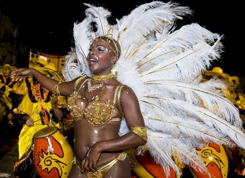 carnaval montevideo arkivfoto