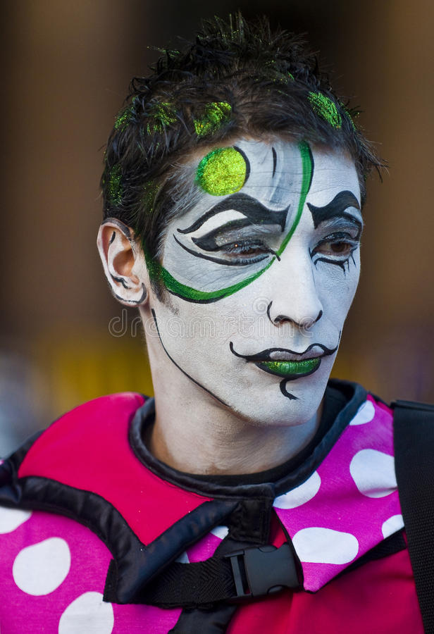 Download Carnaval in Montevideo editorial photography. Image of person - 21781437
