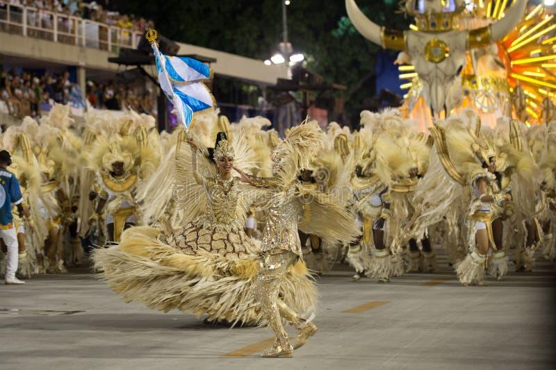 Carnaval 2016 - ONUDI De Vila Isabel images stock