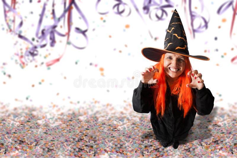 Carnaval ou Dia das Bruxas imagens de stock royalty free