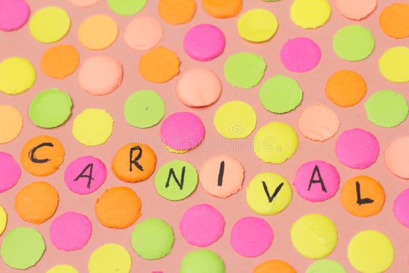 Carnaval przyjęcia tła pojęcie Przestrzeń dla teksta, copyspace Wr fotografia stock