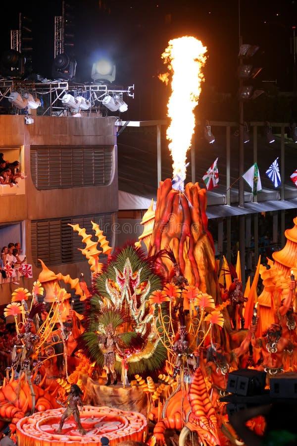 Carnaval in Rio stock fotografie